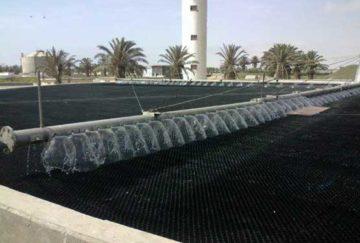 WALVIS BAY – Leistungssteigerung durch Austausch der Steinfüllung gegen Kunststoff-Füllkörper