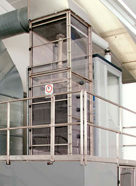 Picture of ENEXIO's test cooling tower in Wettringen/Germany – plant to test fill and drift eliminator performance